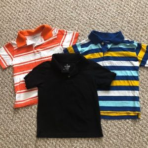 CP lot of boys 4T polos. Great condition.